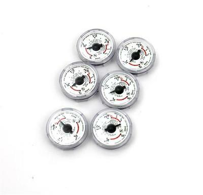 Lot of 6 Rochester Gauges Above Ground Tank Fuel/Oil Volume Dials 5-2383