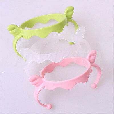1/2/4pcs Plastic Handles Holder Trainer Easy Grip For Baby Cup Feeding Bottles