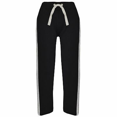 Kids Boys Girls Joggers Jogging Pants Trackie Bottom Casual Trousers 5-13 Years