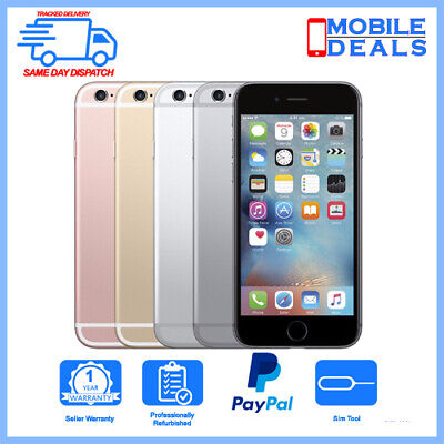 Apple iPhone 6s 16GB 32GB 64GB 128GB Factory Unlocked Smartphone All Colours