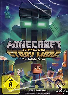 Minecraft: Story Mode Staffel 2 / Season 2 / Two Season Pass Disc PC NEU Deutsch