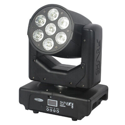 Shark Wash One  LED Moving Head RGBWA UV LED Moving Light Licht Effekt schwarz