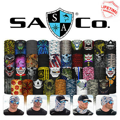 SA Co Face Shield Balaclava USA Skull Pink Fishing Cycling Outdoor Mask