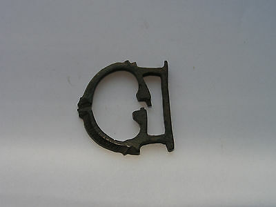 Ancient Roman Bronze Military Buckle