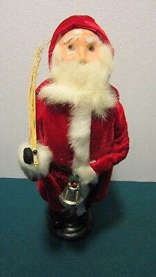 "Byers Choice 1985 Santa with Bell 13"" High"