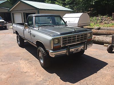 1985 Dodge Other Pickups  1985 Dodge W250 Prospector 4wd Rust Free California Truck