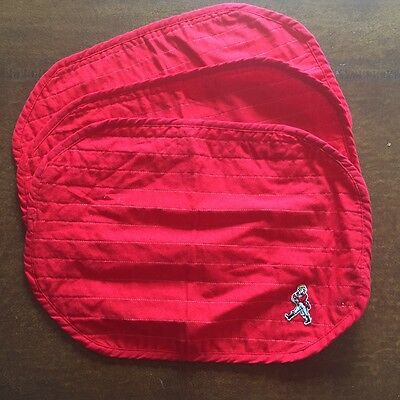 Johnnie Walker Red Quilted Place Mats (3)