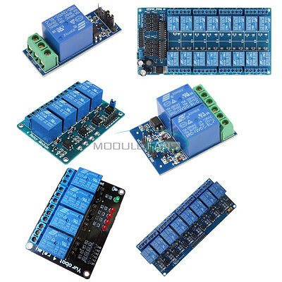 12V 1/2/4/8/16-Channel Relay Module With optocoupler For PIC AVR DSP ARM Arduino