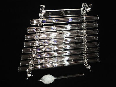 Crystal harp in case (Zebra) -unique musical instrument Great sound Handcrafted