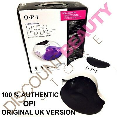 OPI LED LAMP GelColor Studio GL901 ORIGINAL UK VERSION Curing Light Nail Dryer