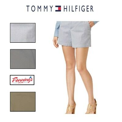 New Tommy Hilfiger Women's Flat Front Casual Walk Shorts SIZE & COLOR VARIETY