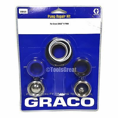 Graco GMax II 7900 Sprayer Pump Packing Repair Kit 249123