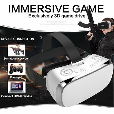 VR All In One Glasses RK3288 Quad core 2G RAM 16G ROM 5.5 inch FHD 1080P Display