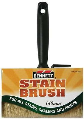 "Bennett SHR JMB BR 6 6"" JUMBO STAIN BRUSH FOR STAINS SEALERS PAINTS"