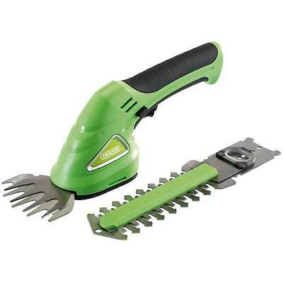 Draper Battery Cordless Electric Grass Shears / Cutter / Hedge Trimmer 53216