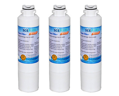 Water Filter 1/2/3 Pack - To Replace Samsung Kenmore Carbon Block Filter inside