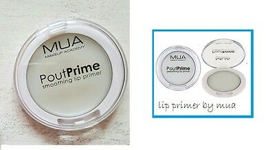 MUA Pout Prime Smoothing Lip Primer soothes dry lips creates base for lipstick