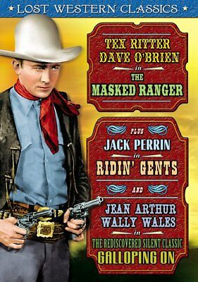 Lost Western Classics: The Masked Ranger (1948) / Riding Gents (1934) / NEW DVD