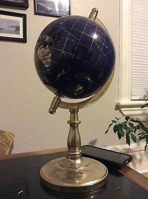 Mother of Pearl Inlaid Globe