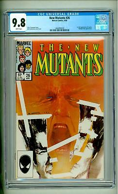 New Mutants #26 Cgc 9.8 First Legion White Pages Tv