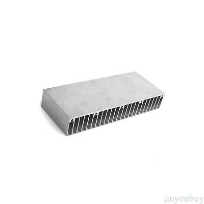 1 Pcs Silver DIY Aluminum Heat Sink Heatsink Cooling Cooler 60mm x 150mm x 25mm