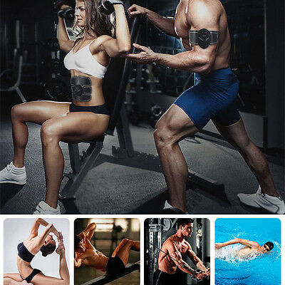 Muscle Training Body Shape Fit Set ABS Six Pad Fitness Massage Home Trainer MZUS