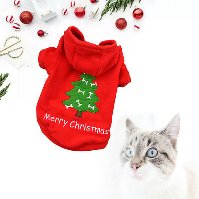 Pet Dog Warm Clothes Puppy Shirt Winter Sweater Costume Jacket Coat Apparel