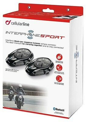 Interphone Sport Bluetooth Intercom Kit - Twin Pack