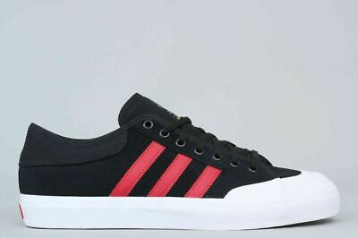 ADIDAS ORIGINALS MATCHCOURT Black White Skateboard Shoes