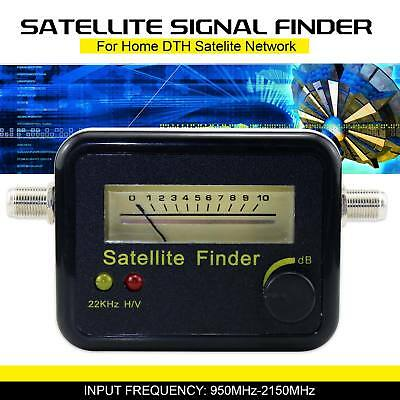 Satellite Signal Finder Analog Meter Accuracy For DTH Satellite Home Sat Dish UK