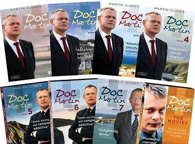 Doc Martin: The Complete Series Season 1-7 DVD BOX SET, FREE SHIPPING, BRAND NEW