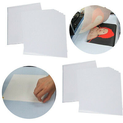 【USA】50 Sheets A4 Inkjet Heat Iron On Transfer Paper for Light Color Fabrics