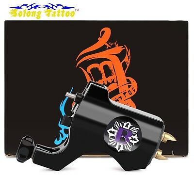 Solong Aluminium Alloy Rotary Tattoo Moteur Machine Gun Crochet Line Jack