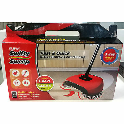 KlevaRange Kleva Swifty Sweep Fast & Quick Floor Sweeper