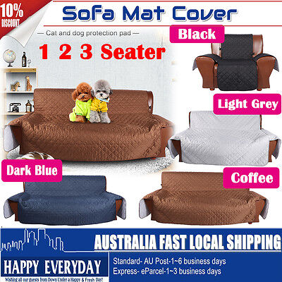Sofa Couch Covers Slip Slipcover Pet Protector 1 Seater 2 Seater 3 Seater Lounge