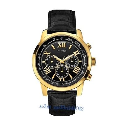 AUTHENTIC GUESS MEN'S HORIZON CHRONOGRAPH WATCH W0380G7 Brand New RRP: $379 DENT