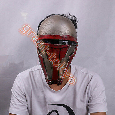Star Wars Darth Revan Mask The Revanchist Helmet Halloween Cosplay Props US SHIP