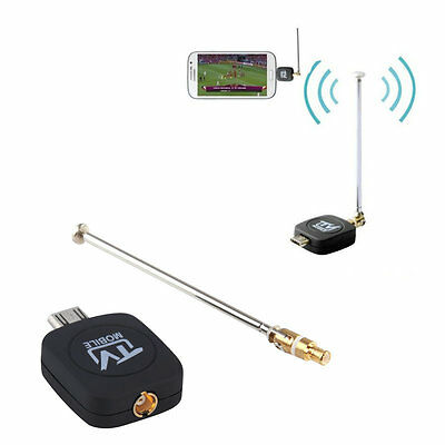 DVB-T Micro USB Tuner Mobile TV Receiver Stick For Android Tablet Pad Phone JK