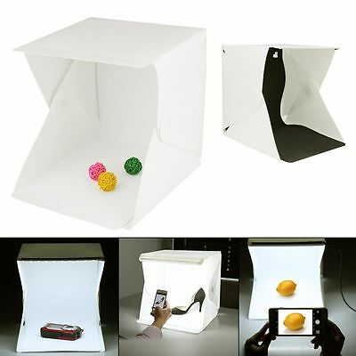 Light Room Photo Studio Photography Lighting Tent Kit Backdrop Cube Mini Box JK