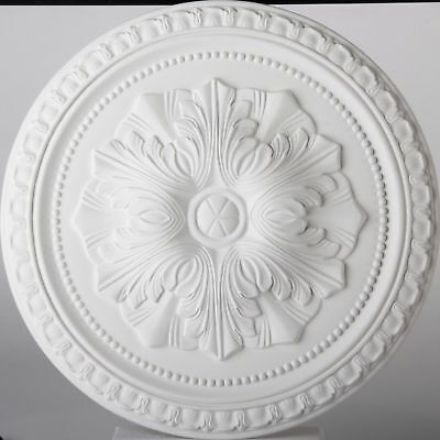 Lightweight Ceiling Rose Flavia Resin Mould Not Polystyrene Easy to Fix 45cm