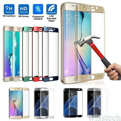 Tempered Glass Protective Screen Protector Film for Samsung Galaxy S7 Edge S6 S8