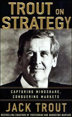NEW Jack Trout On Strategy by Jack Trout BOOK (Paperback) Free P&H