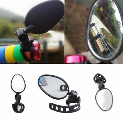 Bicycle Bike Cycling Rotate Rear View Mirror Handlebar Flexible Safety Rearview
