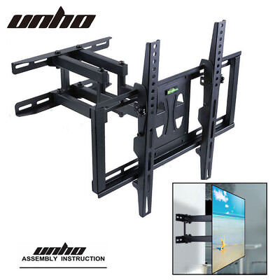 Full Motion Cantilever TV Wall Bracket Mount 180 Rotation Adjustable Arm Mount