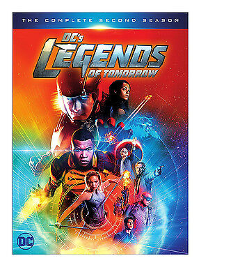 DCs Legends of Tomorrow: The Complete Second Season 2 (DVD, 2017 Disc 4)