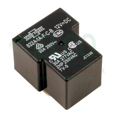 Relay Song Chuan 832A-1A-F-C-B 12VDC 30 Ampere