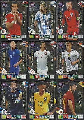 Panini Adrenalyn XL Road to Russia World Cup 2018 Cards choose aussuchen Limited