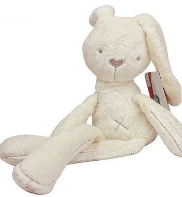 Plush Baby Toy Bunny Soft Cute Stuffed Animal Soft Doll Gift for Little Infant