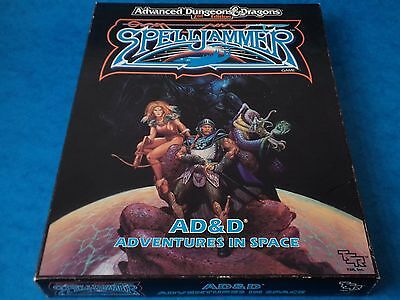TSR 1049 - AD&D - SPELLJAMMER - Adventures In Space 1989 Dungeons & Dragons Set