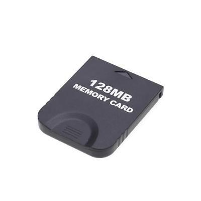 128MB Memory Card Data Storage Backups Save for Nintendo Wii GameCube Gaming